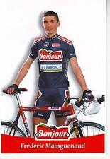 CYCLISME carte cycliste FREDERIC MAINGUENAUD équipe  BONJOUR.2000
