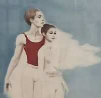 "G.H. Rothe ""Pas de Deux""  Art Custom Framed Hand Signed 1977"