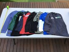 Pre-Loved, Size 10 Boys long sleeve T-Shirts, 7 pairs, Piping Hot, Target etc