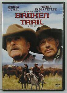 Like New WS DVD Broken Trail Robert Duvall Thomas Haden Church 2 Disc Set