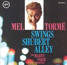 Swings Shubert Alley by Mel Tormé (CD, Oct-1989, Verve)