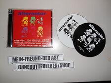CD va Alternator (24 song - 2cd) synchro digital rec/New Order skinny puppy
