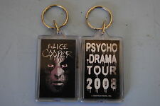 ALICE COOPER CRACKED FACE PSYCHO DRAMA TOUR KEYCHAIN NEW OFFICIAL RARE