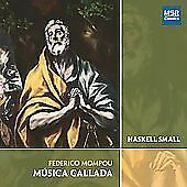 Federico Mompou: Musica Callada (CD, Aug-2013, MSR Classics) (cd8583)