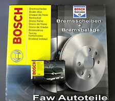 BOSCH frenos Kit Opel 2x DISCOS DE + 4x PASTILLAS (delant.) 280 x 25mm #