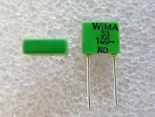 10 condensateurs Wima FKP2 33pF 100V 5%