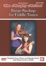 The Murphy Method Banjo Backup For Fiddle Tunes Learn to Play Strum Music DVD