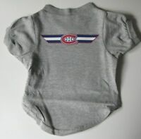 NEW MONTREAL CANADIENS PET DOG HOCKEY T-SHIRT ALL SIZES