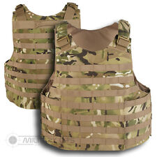 MOLLE TACTIQUE ATTAQUE GILET BASE PLAQUE CARRIER MTP MULTICAM PALS