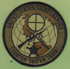 US SECRET SERVICE COUNTER SNIPER TEAM SUBDUED SHOULDER PATCH