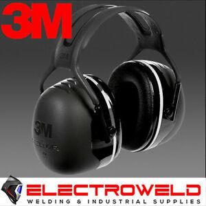 3M X5 PELTOR HEADBAND EARMUFF EAR MUFF NOISE HEARING PROTECTION SERIES CLASS X5A
