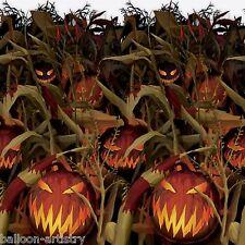Halloween CREEPY PUMPKIN Patch Party Scene Setter Room Roll - Scary Crops Farm