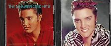 ELVIS PRESLEY - THE NUMBER ONE HITS + THE TOP TEN HITS - (2) CD LOT