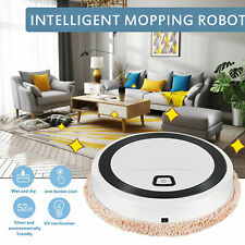 Smart Robot Vacuum Dry/Wet Floor Mop Cleaner Sweep Carpet 3in1 Auto Rechargeable