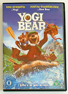 Yogi Bear (DVD, 2011) Animated Comedy Film, Dan Aykroyd, Region 2