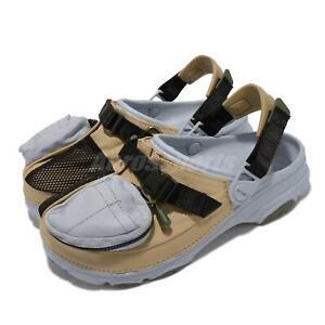 Crocs X BEAMS Classic All Terrain Outdoor Blue Khaki Men Casual 207447-030