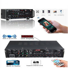 1200W Car Audio Power HiFi Amplifier 326BT Speaker Remote Control Bluetooth 2.0