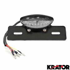 LED Turn Signals License Plate Light & Bracket for Trailer RV Cargo Van Camper