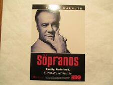 Paulie Walnuts the Sopranos HBO Advertising Continental Postcard