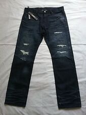 CULT OF INDIVIDUALITY JAPANESE DENIM McCOY LOOSE FIT SELVEDGE JEANS SZ 36X33