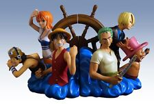 Shonen Jump One Piece Bookends Statue Set - Limited edition NEW in box