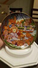 Vintage 1991 Franklin Mint A Teddy Bear Picnic Plate by Carol Lawson Chic
