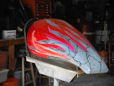 CUSTOM PAINTED HARLEY MAILBOX