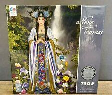 "Ceaco Hitomi by Nene Thomas 750 pc Puzzle 18 x 24"" w/ Bonus Poster US Made"