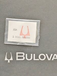 Bulova Accutron Spaceview Dial spacer for 214 genuine bulova new old stock