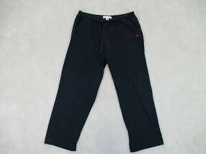 Tommy Bahama Pants Adult Extra Large Black Red Lounge Sleepwear Pajama Mens A55