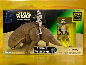 Star Wars - Power of the Force - Dewback and Sandtrooper