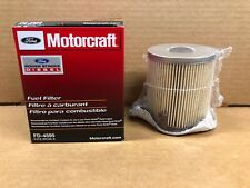 New Genuine Motorcraft Ford FD4595 Diesel Fuel Filter With Gasket F4TZ-9N184-A