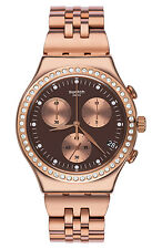 SWATCH Damenuhr Irony Chrono Precious Rose YCG414G