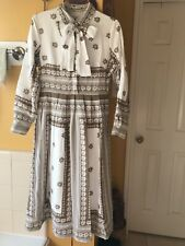 Vintage French Parlor Dainty Jewells dress size M