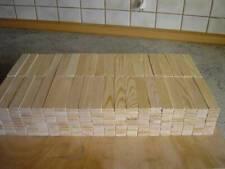 400 - 1.000 Holzbausteine aus einheimischen Kiefernholz 120 x 24 x 8 mm