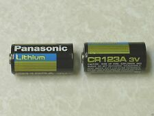 4 PANASONIC CR123A 123 SF123A BATTERY CR123 LITHIUM 1550 mah PHOTO EXPIRE 2024