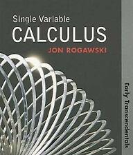 Single Variable Calculus: Early Transcendentals (Paper), Jon Rogawski, 142921076