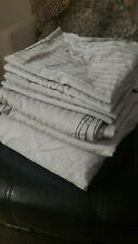 Frette Hotel Atlantic Sheet Set Grey Queen Extra Pillowcase set!!!
