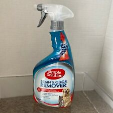 Simple Solution® Pet Stain Odor Remover Pro-Bacteria Foam Cleaner ~ 3-In-1 Spray