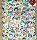 Large Blanket & pillow doll pram bedding set (cute owls)baby annabell ?