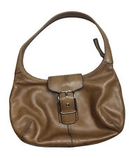 Authentic Coach Brown Soft Leather Hobo / Handbag Purse No C33-9282