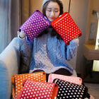 Arctic Cotton Polka Dot Hot Water Bag Electric Rechargeable Heat Hand Warm B SK
