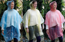 Regenjacke, Regenponcho, Regencape, Regenschutz, Farben rot blau gelb wählbar