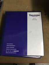 Triumph Sprint ST 1050 & ST 1050 ABS Genuine Service Manual