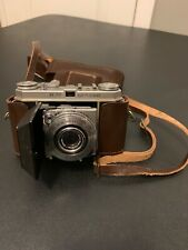 Vintage Kodak Retina IA with Combi Meter and Leather Case Looks Great