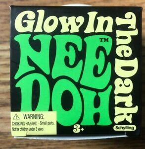 Schylling The Groovy Glowing Glob! Glow in The Dark NeeDoh