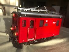 Lgb 2046 Electric Cog Locomotive Furka Oberalp 21 As-Is, No Box