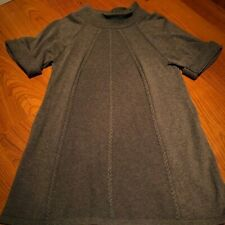 Womens Gap Maternity Brown Short Sleeve Sweater, Size Small