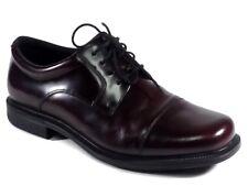 Rockport Adiprene by Adidas Men's Burgundy Leather Cap Toe Oxford Shoes Size 9