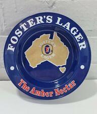 More details for vintage large fosters melamine ash tray - beer lager pub bar man cave